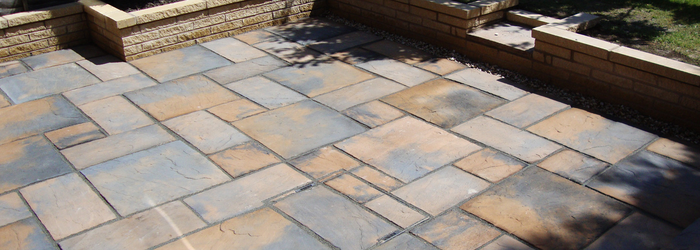 Heritage Colder Brown Block Paving